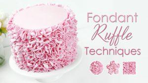 How to make cake ruffles