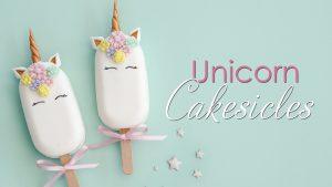Unicorn Cakesicles Tutorial