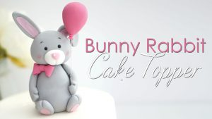 How to make a bunny rabbit cake topper