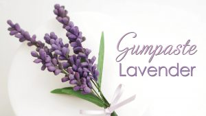 gumpaste Lavender tutorial
