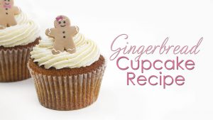 Gingerbread Cupcakes & Buttercream Recipe