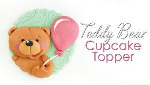 How to make a teddy bear cupcake