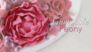 Gumpaste Peony tutorial