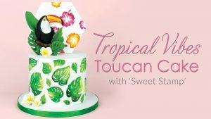 Tropical Vibes Toucan Cake Tutorial