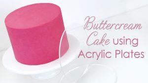 how to use acrylic ganache plates
