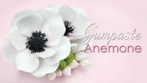how to make a gumpaste anemone