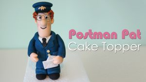 Postman Pat cake topper