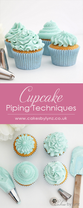 Cupcake Piping Tips techniques