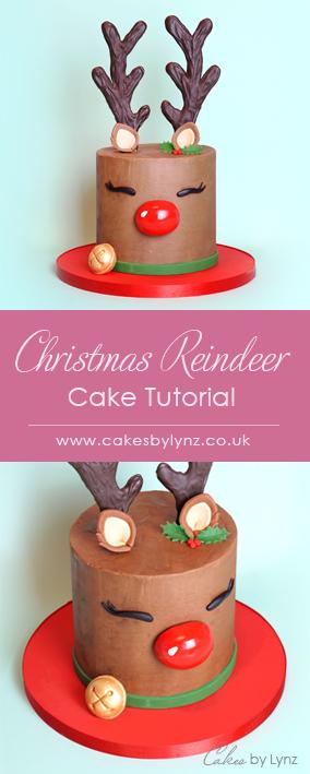 Reindeer Cake Tutorial