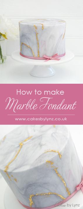 Marble fondant