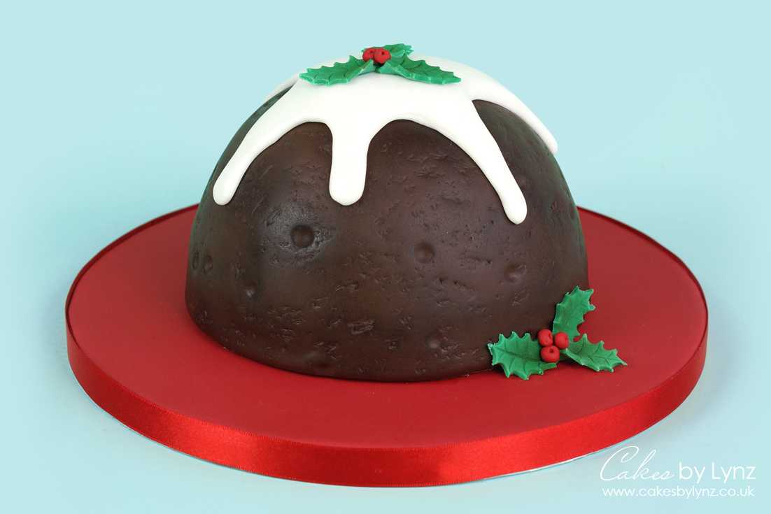 Christmas Pudding Cake tutorial