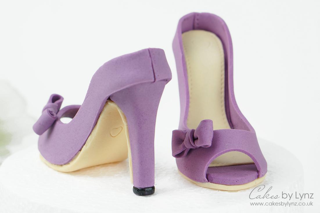 Gumpaste Shoe cake toppers