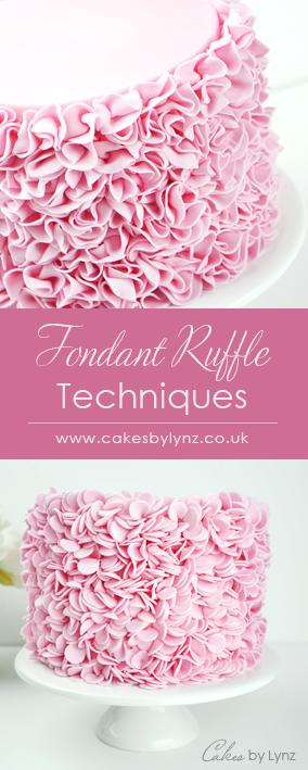 Fondant Ruffles cake