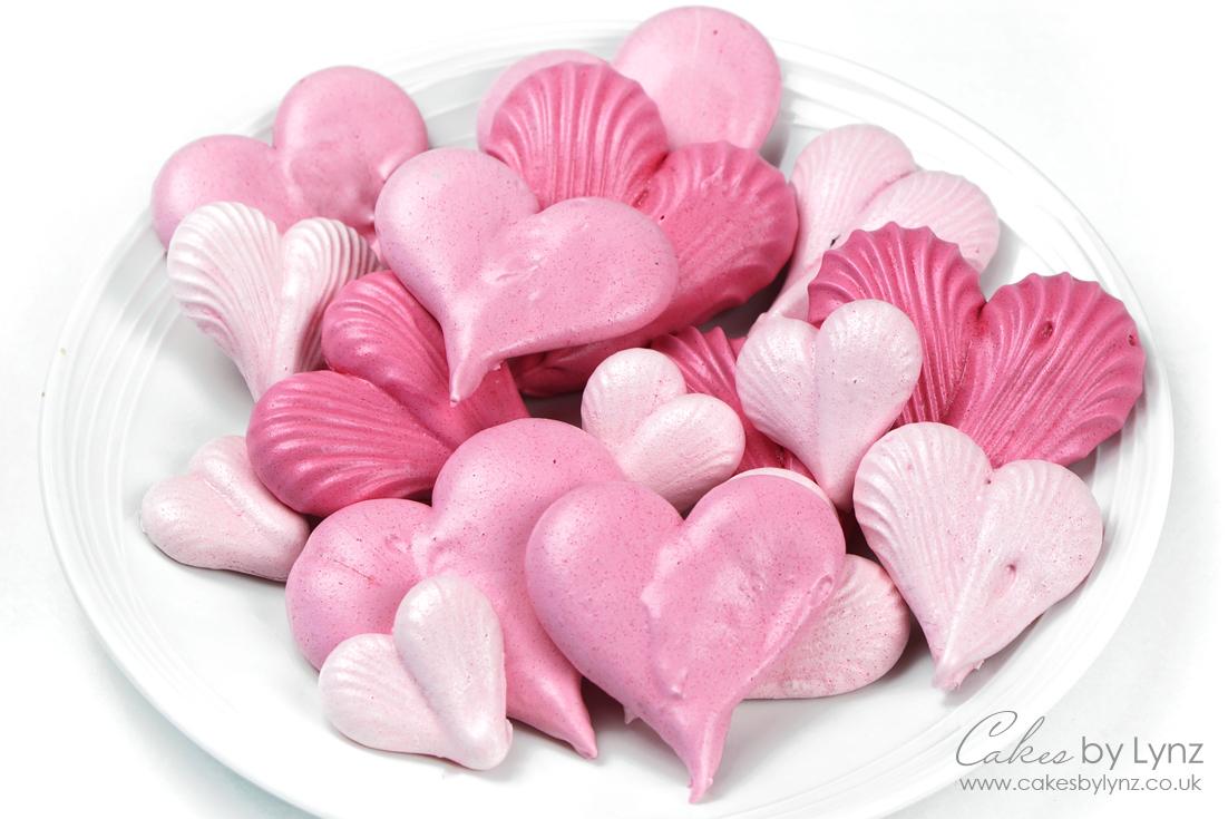 Meringue Hearts