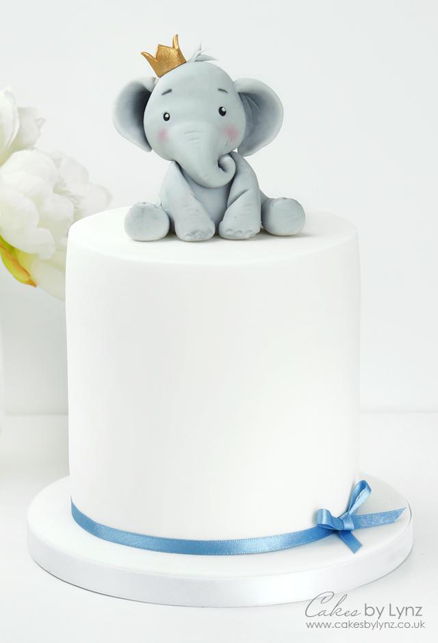fondant Elephant cake Topper tutorial