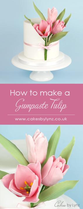 How to make a Gumpaste / Sugar Tulip video Tutorial