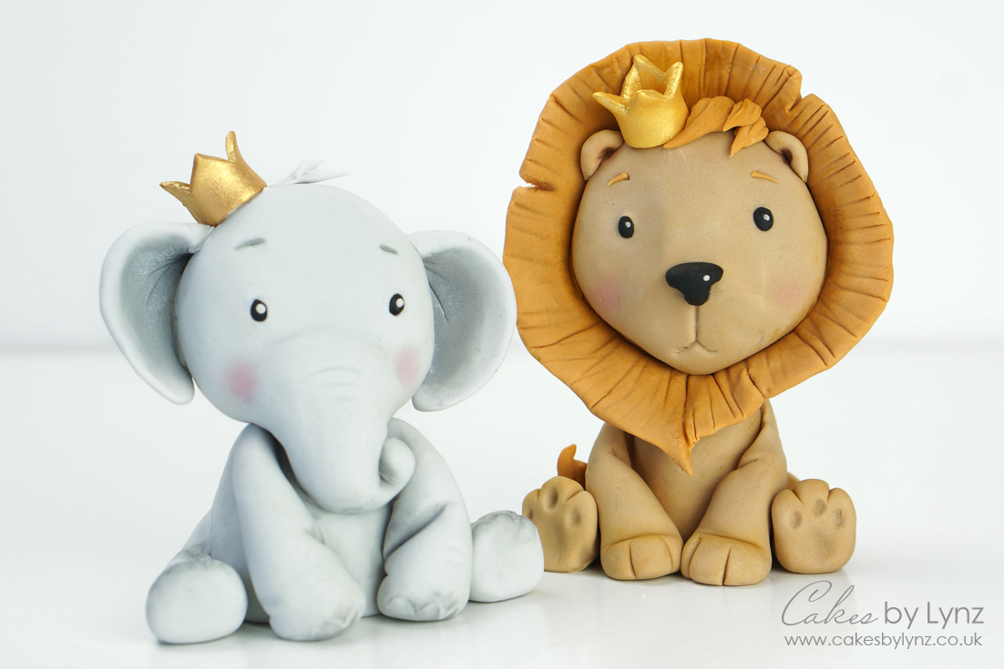Learn how to make an Animal Cake topper tutorial