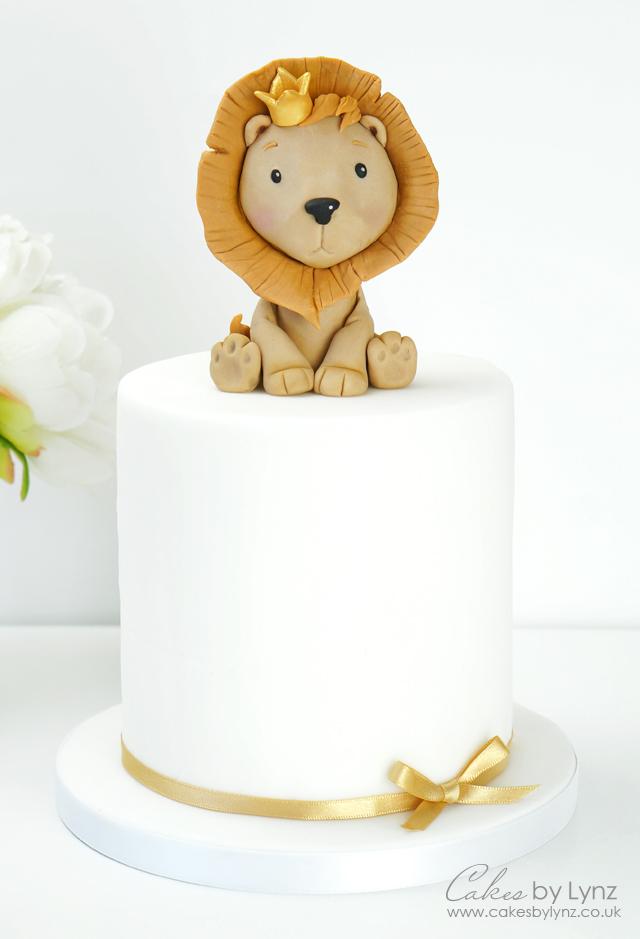 Free lion Cake topper tutorial