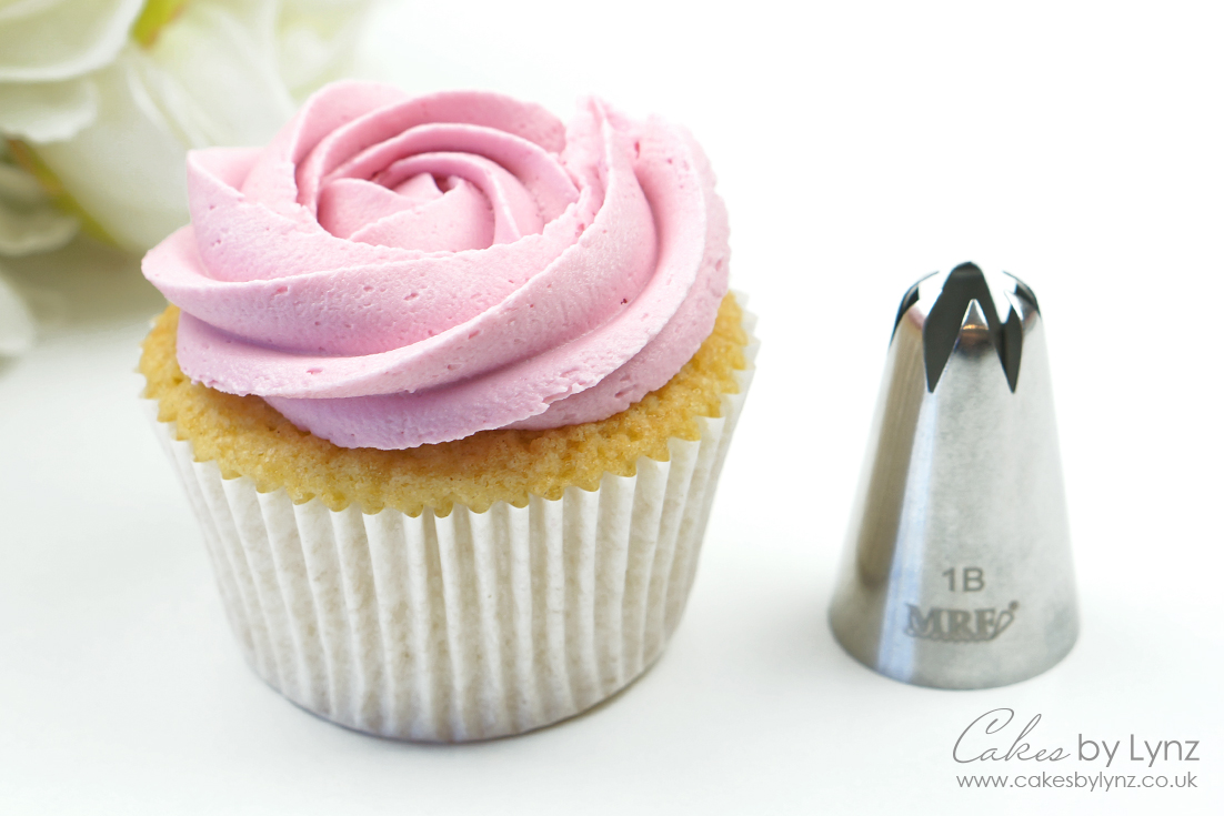 1B cupcake piping nozzle
