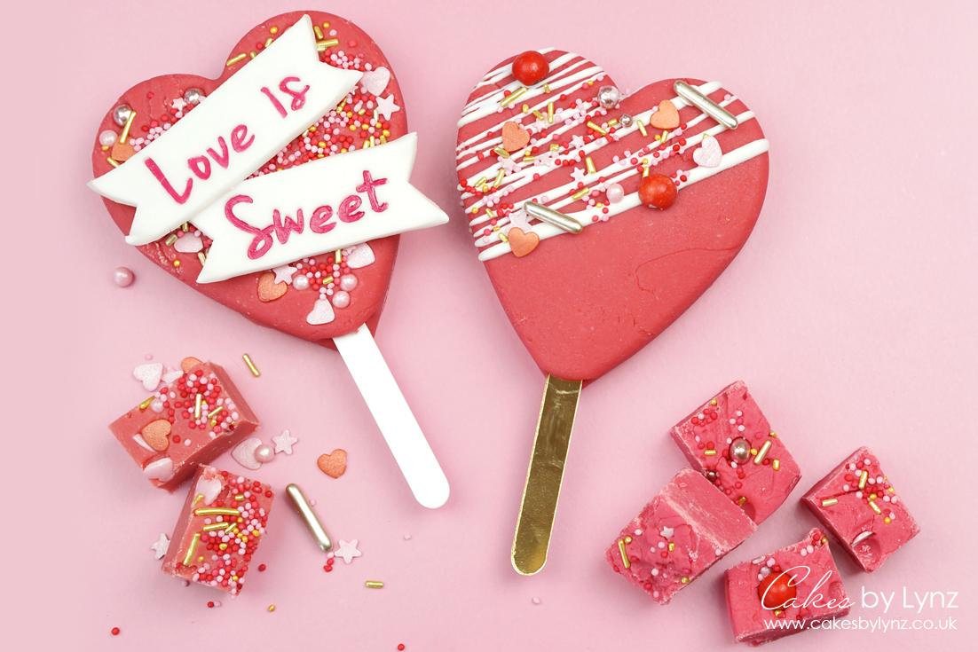 pink Vanilla Fudge valentines day recipe