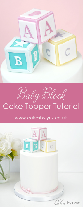 Baby Block Topper tutorial
