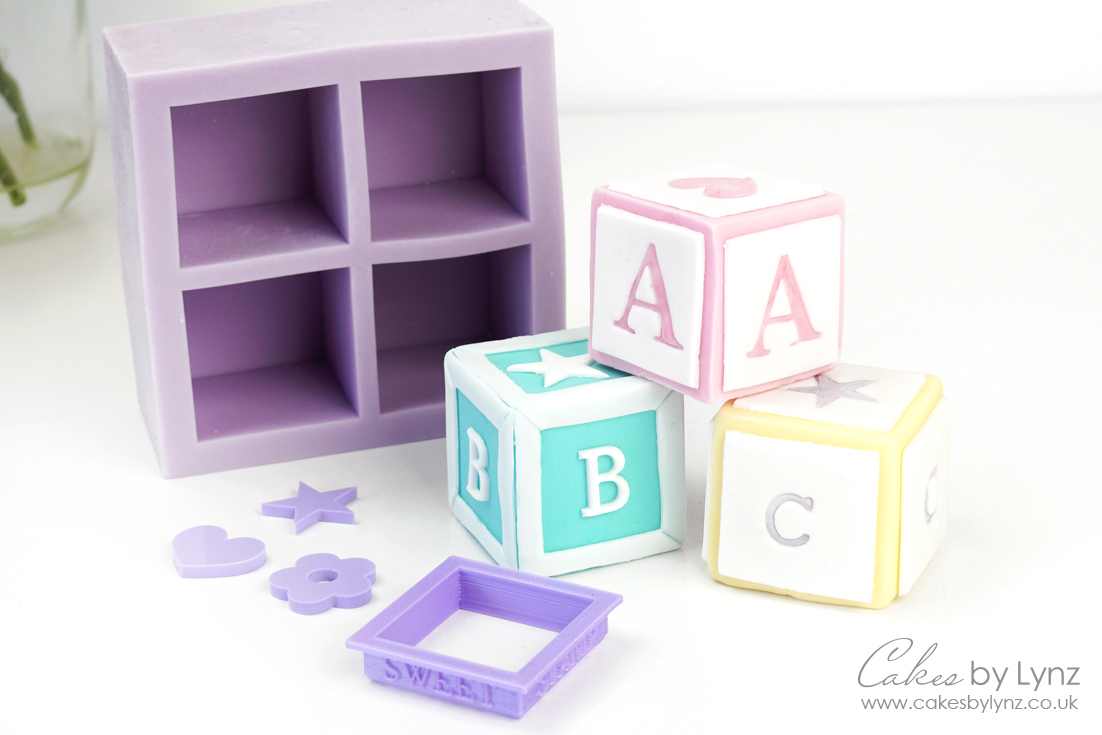 How to make baby blocks for your cakes