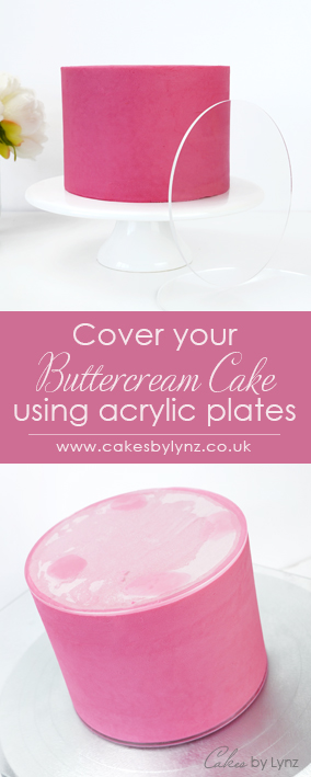 how to use Acrylic cake plates