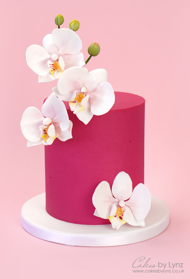 How to make gumpaste sugar orchids for your cakes