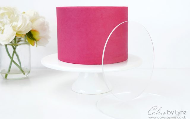 how to use ganaching acrylic plates for smooth sides