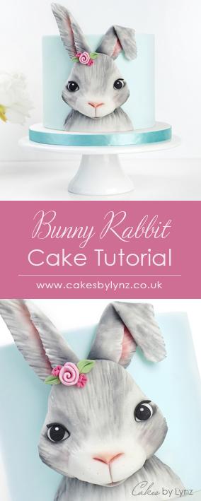 Bunny Rabbit Cake decorating tutorial