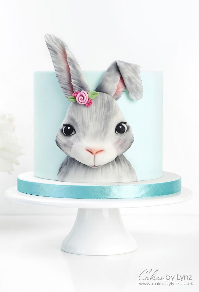 Bunny Rabbit Cake Tutorial 1