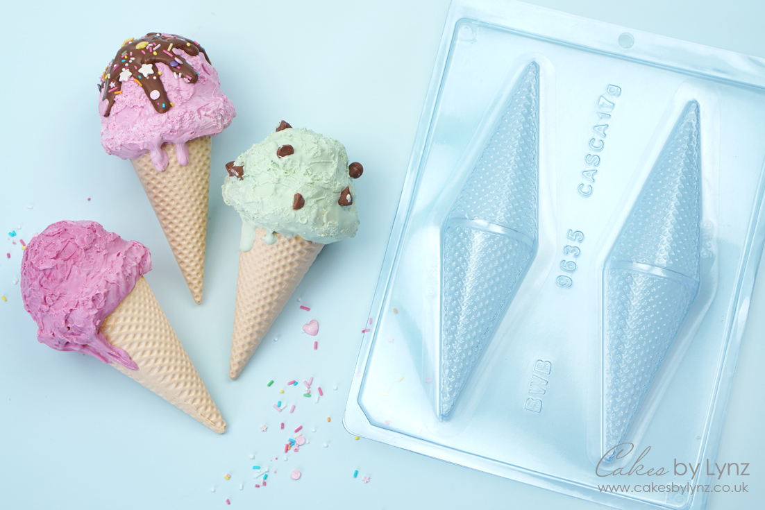 Ice Cream Cakesicles cone mould