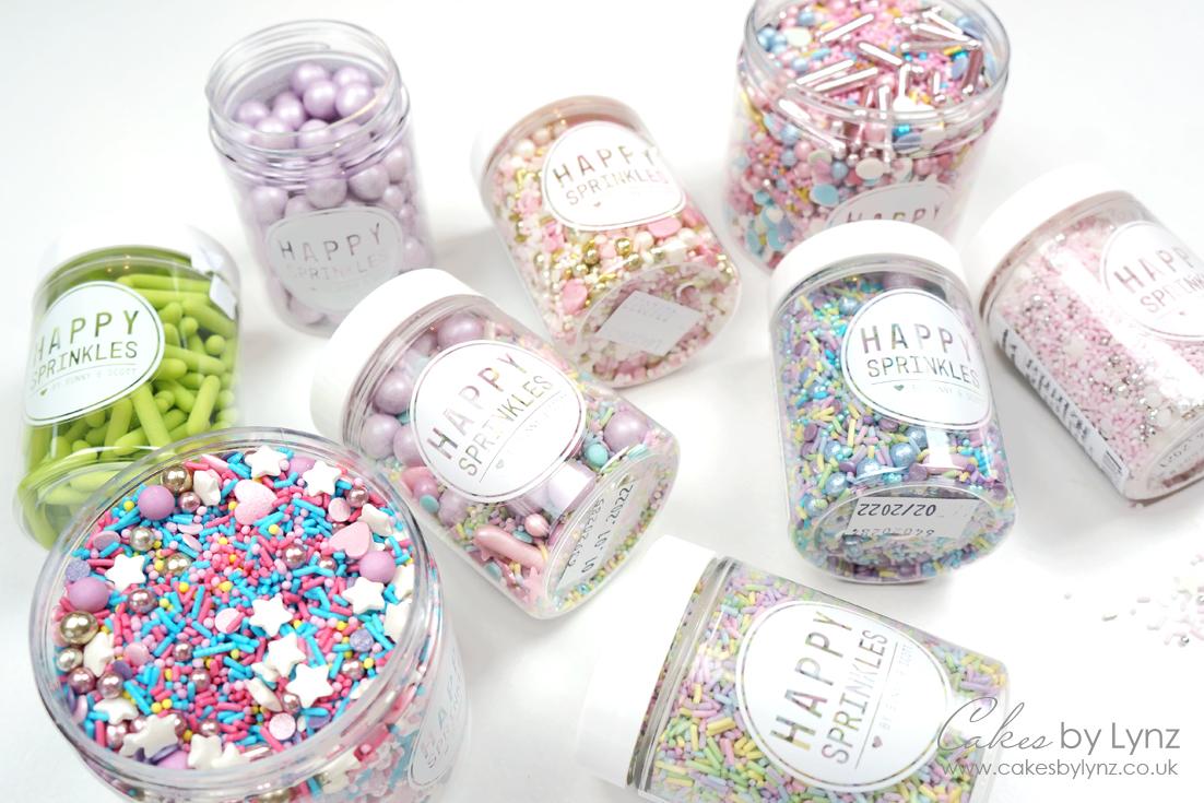 Happy Sprinkles sprinkle mixes