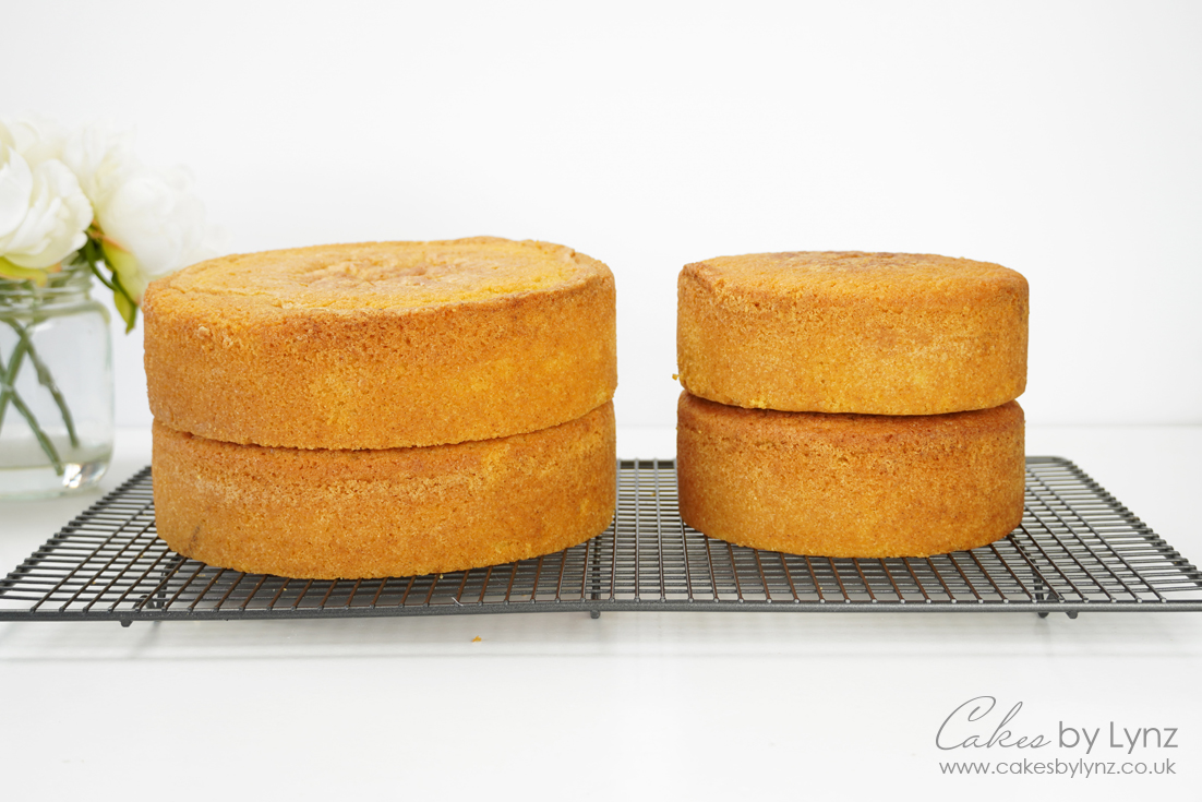 converting cake recipes for any size tins 3