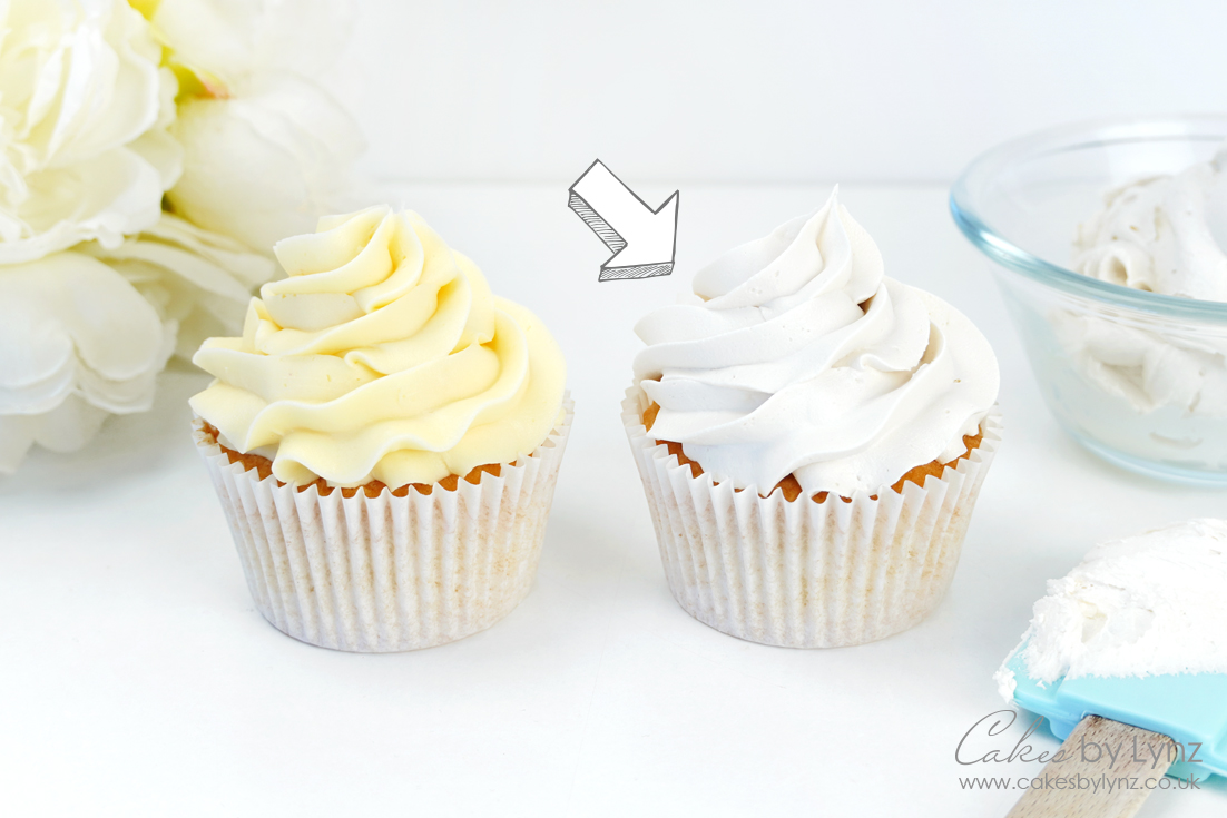 how to make your buttercream white
