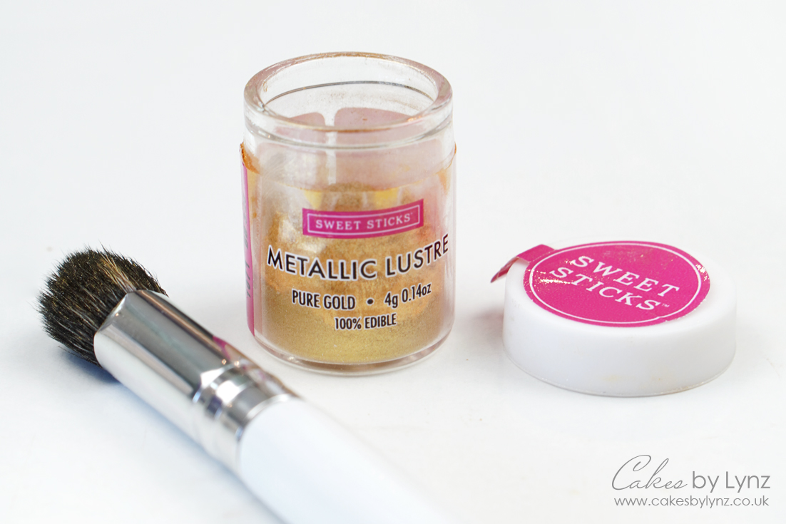 How to make edible paint - pure gold by sweetsticks