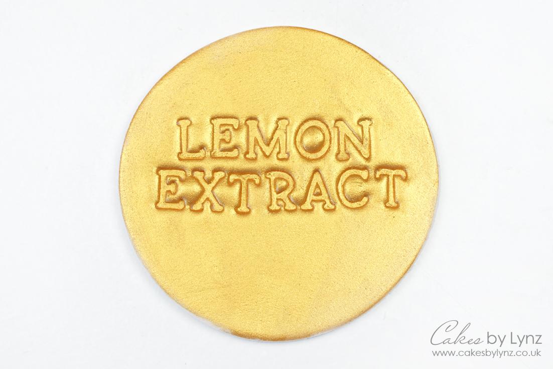 How to make edible paint - lemon extract