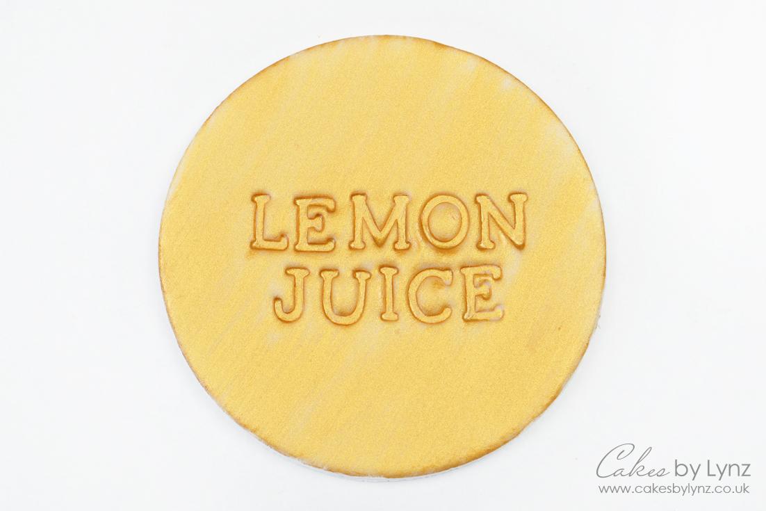 How to make edible paint - lemon juice