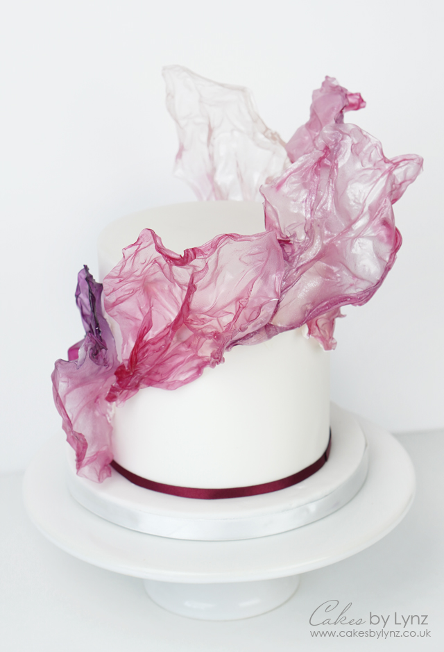 How to make rice paper sails for your cakes