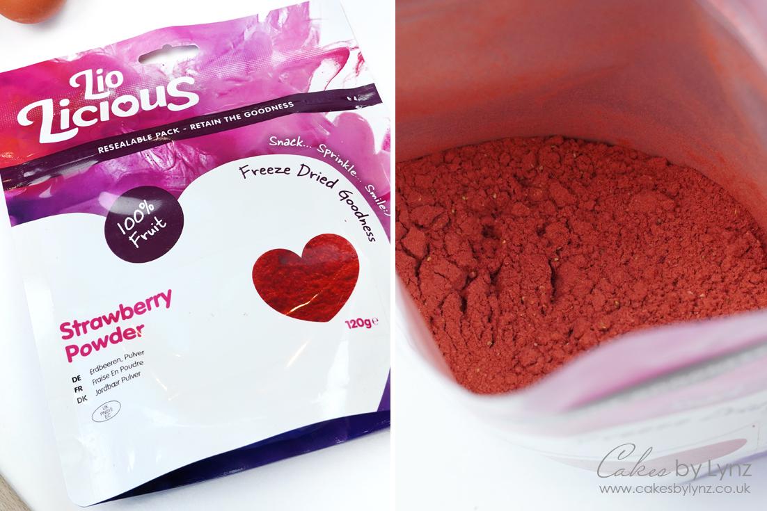 Strawberry powder by lio licious