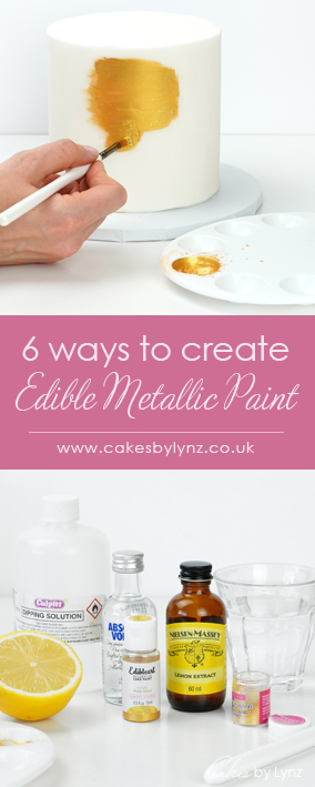 best ways to create edible paint