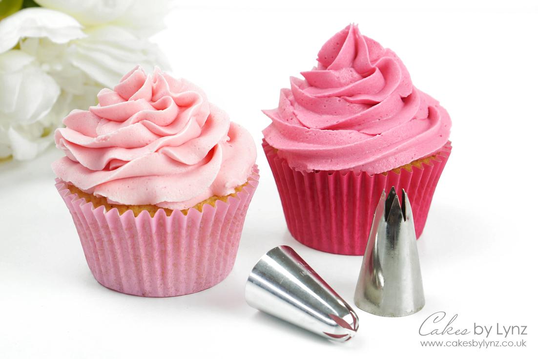 1m & 2d cupcake piping tips