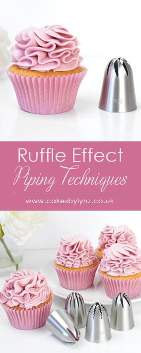 ruffle effect piping techniques