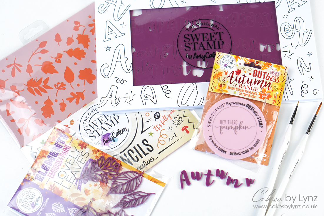 Autumn sweet stamp collection