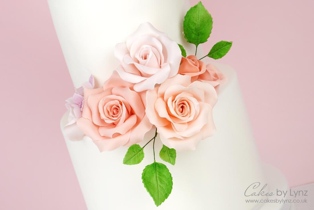 free Gumpaste rose flower tutorial