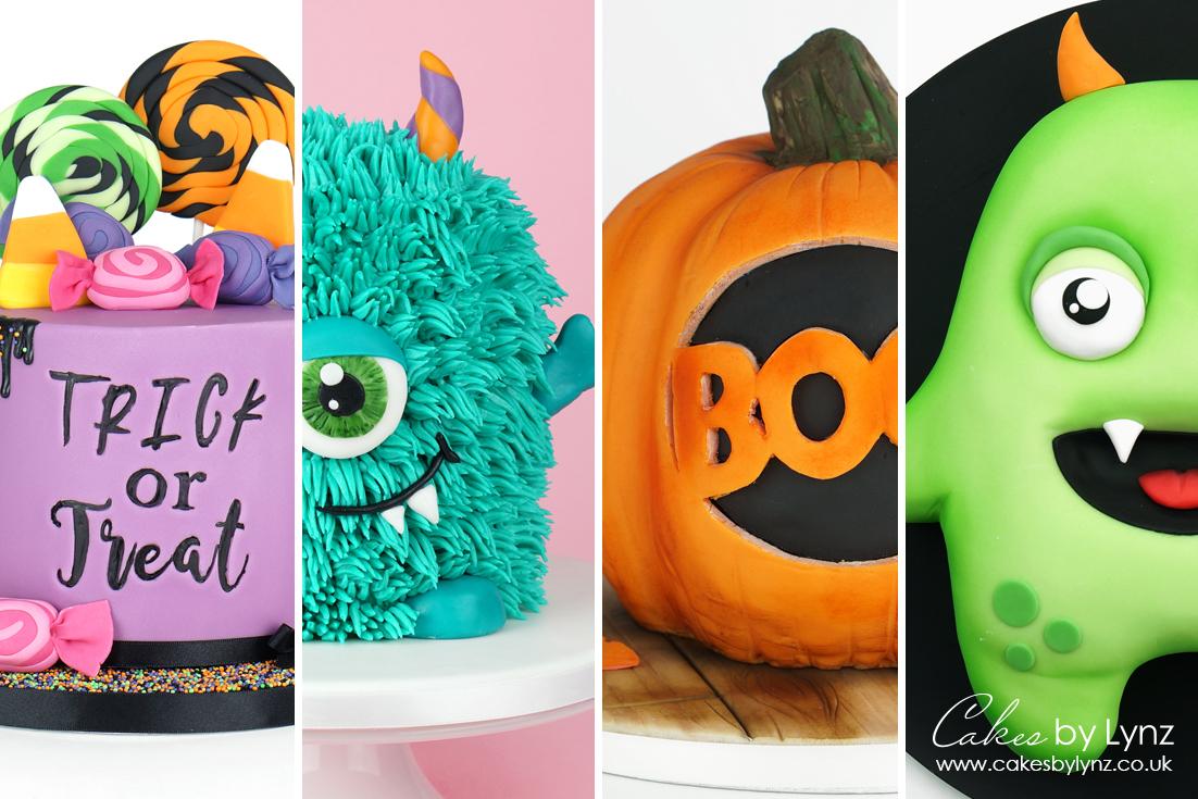 Halloween Cake Inspiration - Free Tutorials