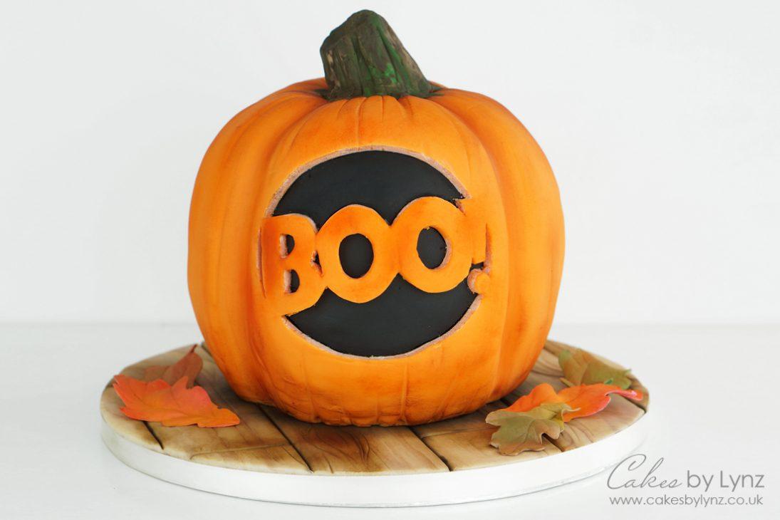 Realistic carved Pumpkin cake tutorial