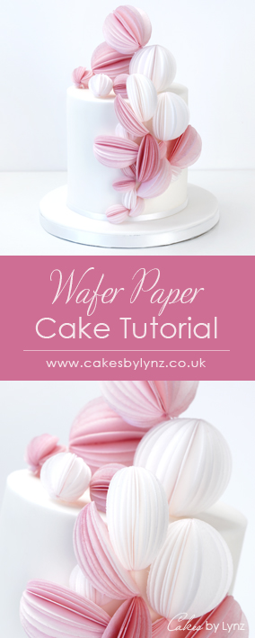 wafer paper - rice paper cake tutorial